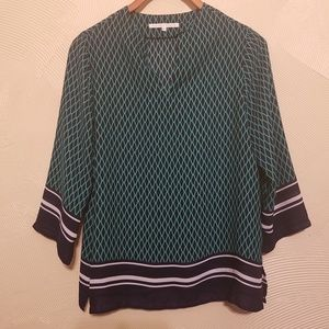 Violet & Claire 3/4 Sleeve Oversized Tunic Top Sm.